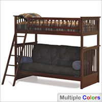 Columbia Twin over Futon Bunk Bed