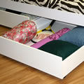Twin over Full with Desk Underbed Drawer