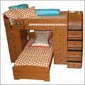 Berg Furniture Sierra Twin Over Twin Loft With 2 Chests