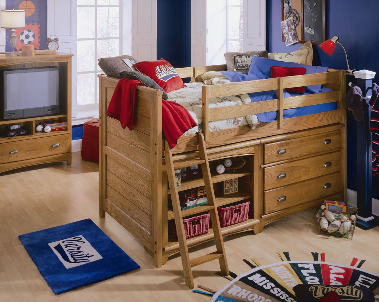 Lea Furniture Austin Low Loft Bed