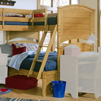 Lea Austin Twin over Full Bunk Bed
