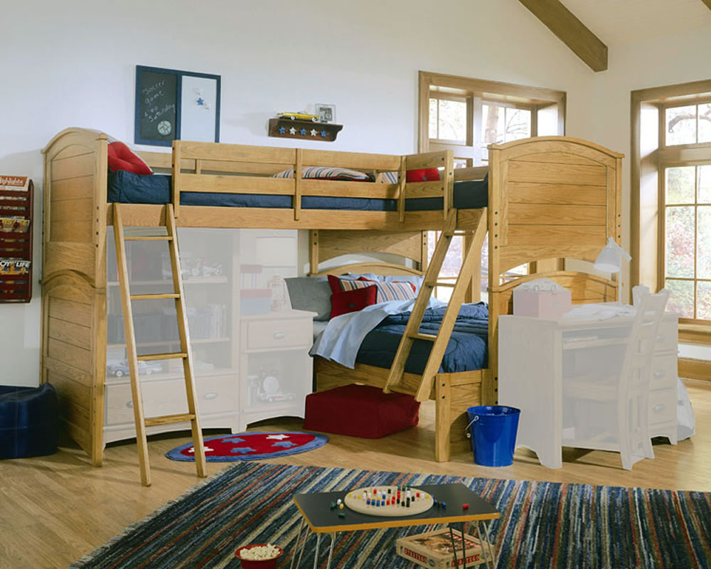 Lea Furniture Austin Bunk Bed With Tri Bunk Extension