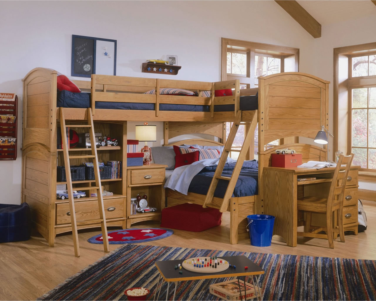 Awesome Twin Over Bunk Beds With Stairs  YouTube