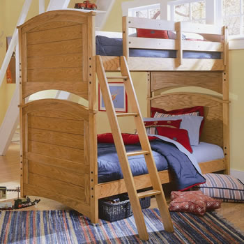 Lea Furniture Austin Twin over Twin Bunk Bed