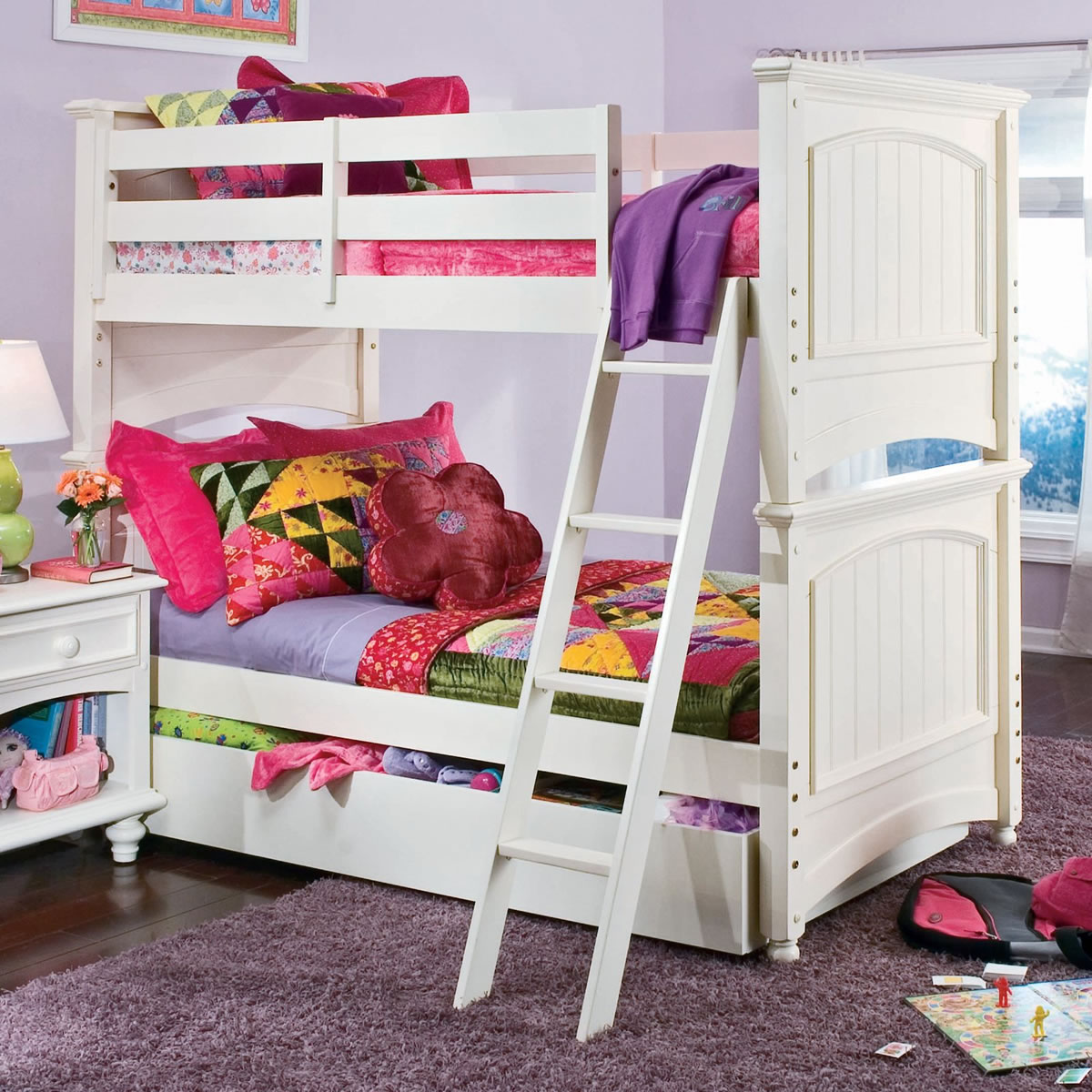 Picture of: Lea Industries Carolina Retreat Twin Over Twin Bunk Bed