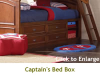Captain's Bed Box