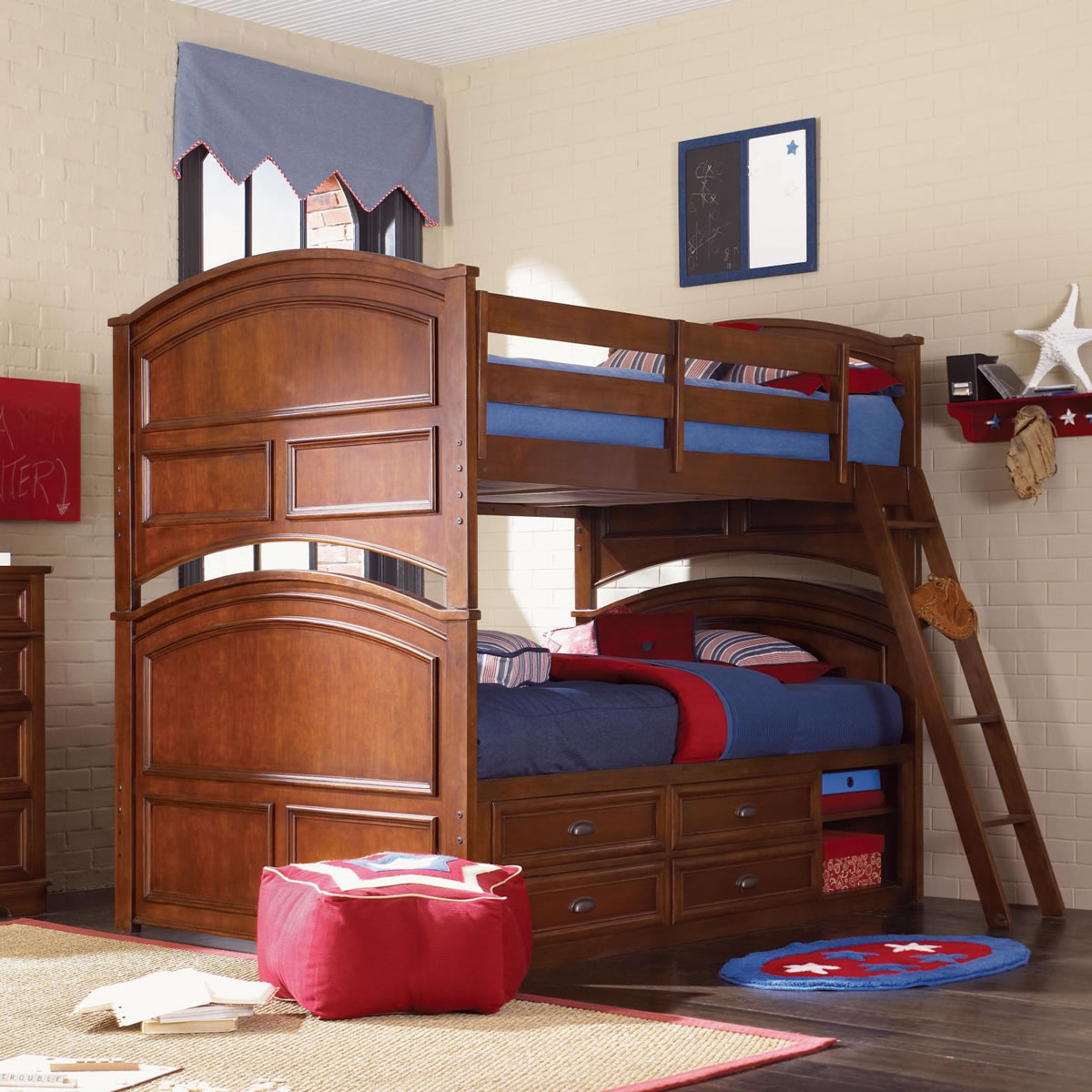 Toddler bunk beds and loft beds browse read reviews discover - Full Over Full Bunk Beds