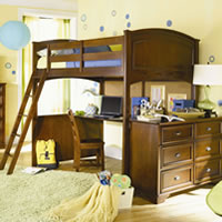 Deer Run Full Loft Bed