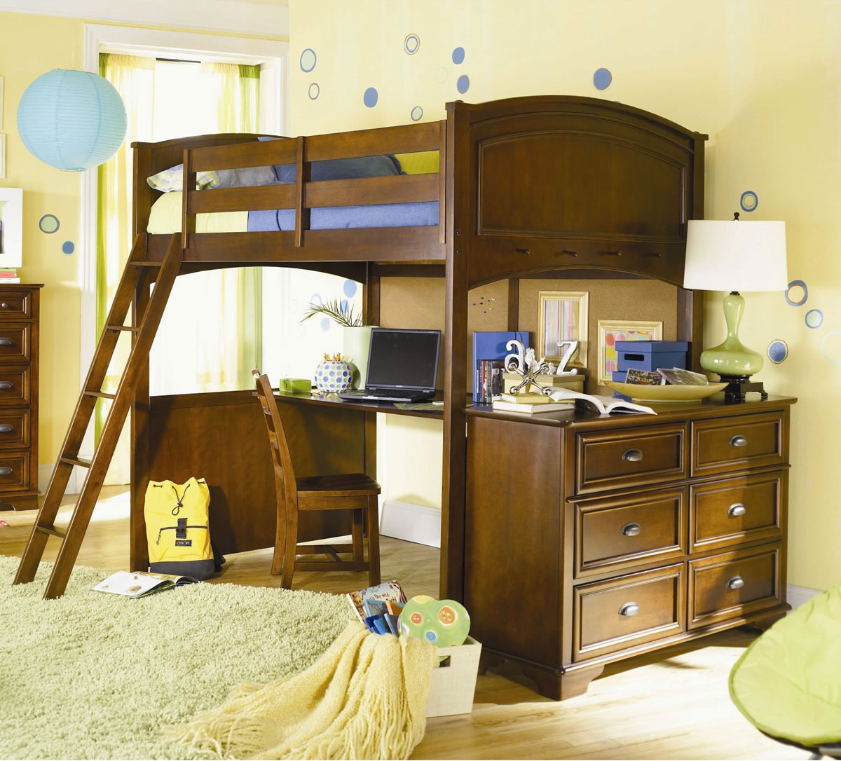 Lea Deer Run Full Loft Bed