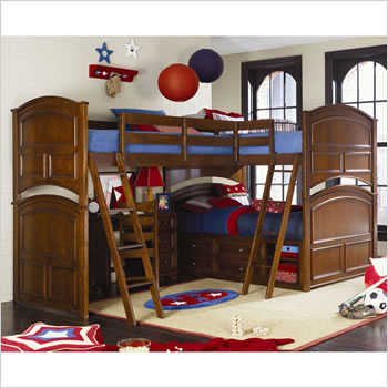 Lea Deer Run Tri-Bunk Bed