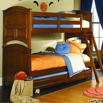 Genial Lea Deer Run Twin Over Twin Bunk Bed
