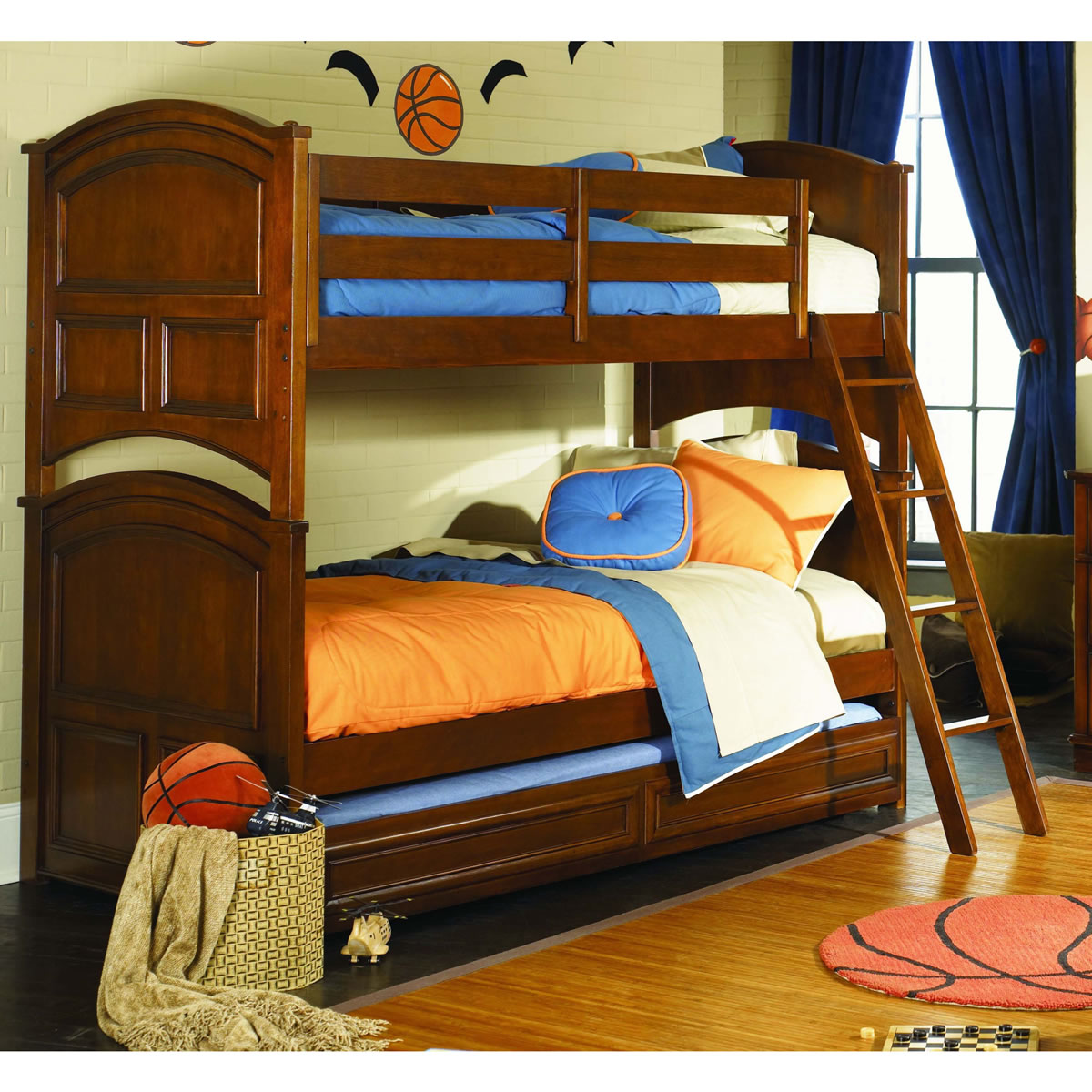 Lea Furniture Deer Run Twin Over Twin Bunk Bed