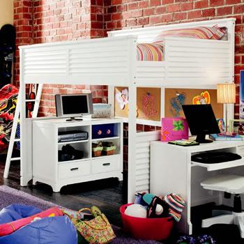 Lea Furniture Freetime Loft Bed