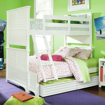 Lea Freetime Twin over Full Bunk Bed
