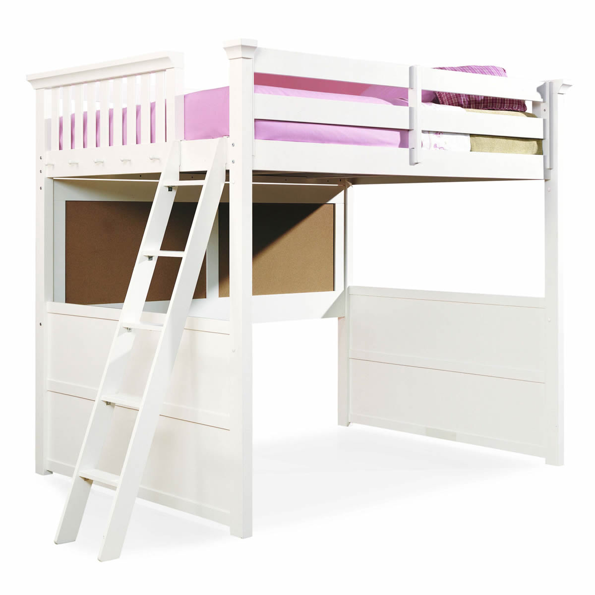 Full Size Loft Bed With Desk For Adults Pictures to pin on Pinterest