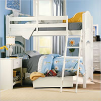 Lea Getaway Twin Bunk Bed