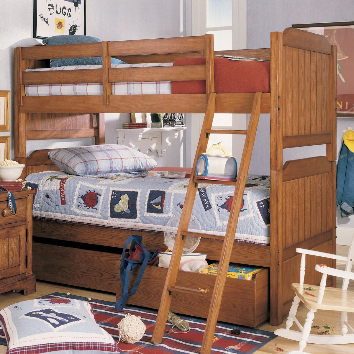 Toddler bunk beds and loft beds browse read reviews discover - Lea Jackson Creek Twin Over Twin Bunk Bed