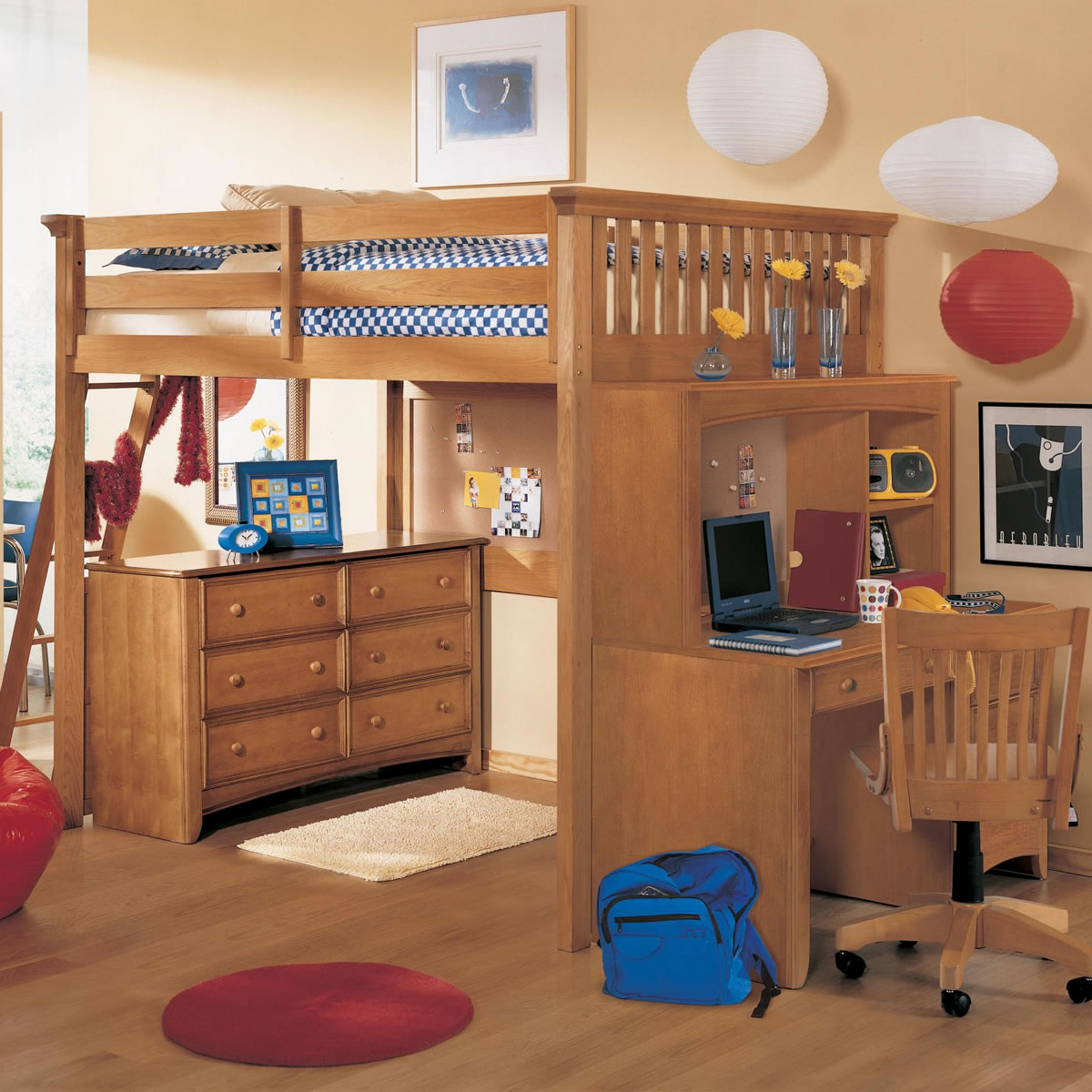 Toddler bunk beds and loft beds browse read reviews discover - Lea My Place Loft Bed