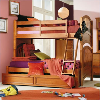 Lea My Place Twin over Full Bunk Bed
