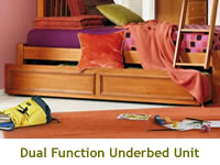 Lea Furniture My Place Twin Over Twin Bunk Bed