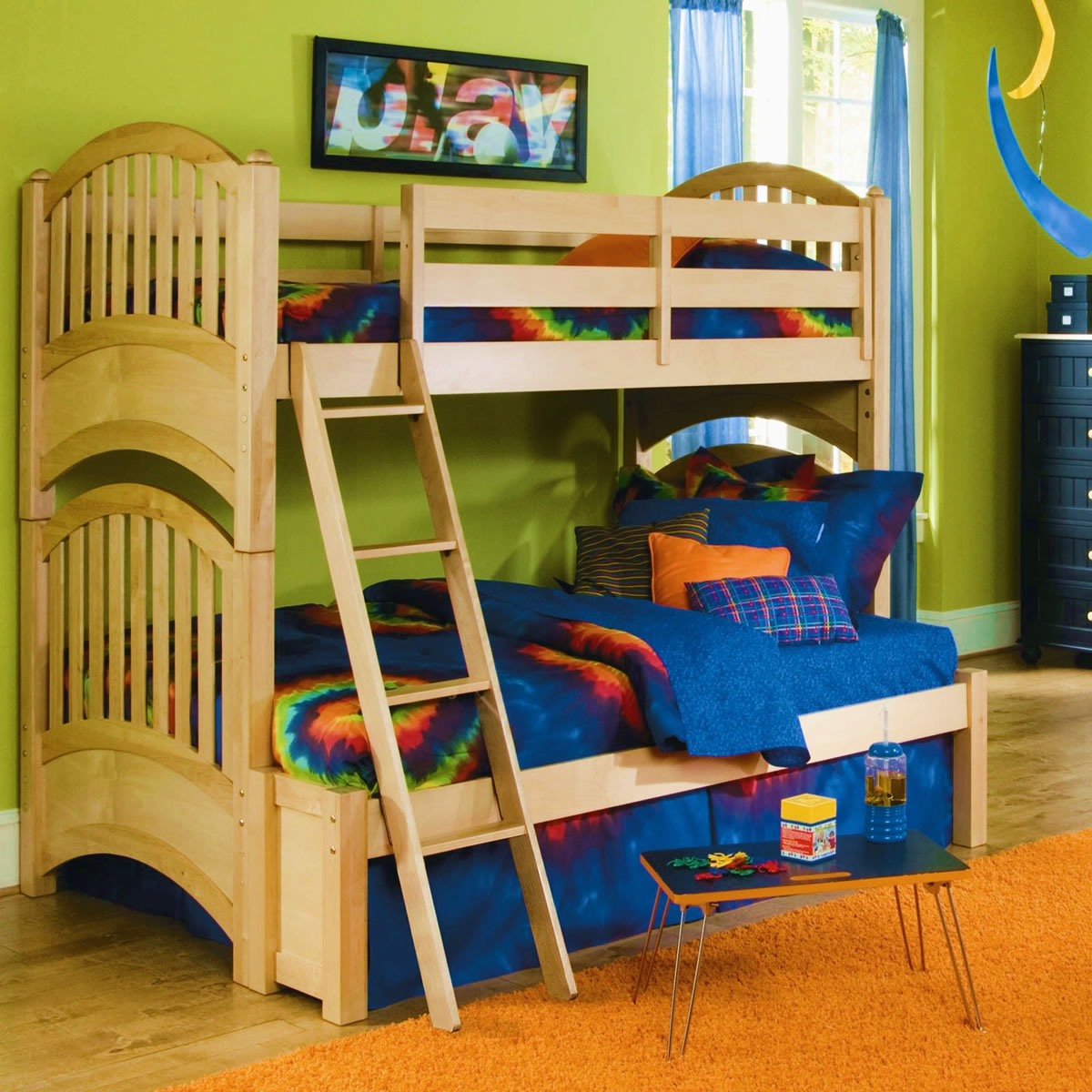 Lea Furniture My Style Twin Over Full Bunk Bed