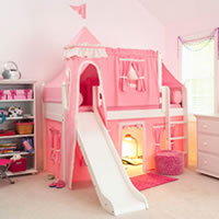Princess Castle Loft Bed