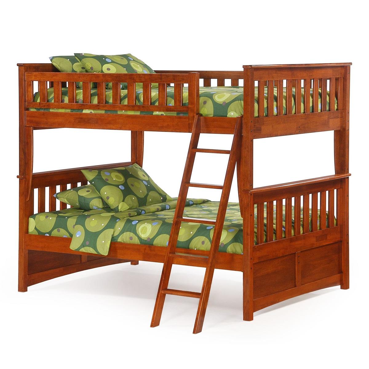 night u0026 day ginger full over full bunk bed