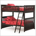 Ginger Full Bunk Bed in Chocolate
