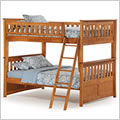 Ginger Full Bunk Bed in Medium Oak