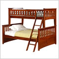 Night and Day Ginger Twin over Full Bunk Bed