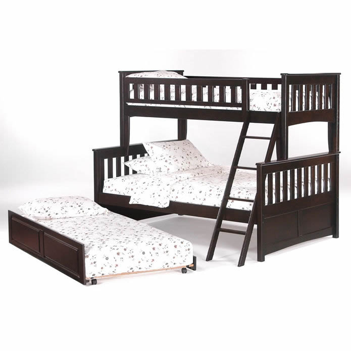 Ginger Bunk Bed In Chocolate
