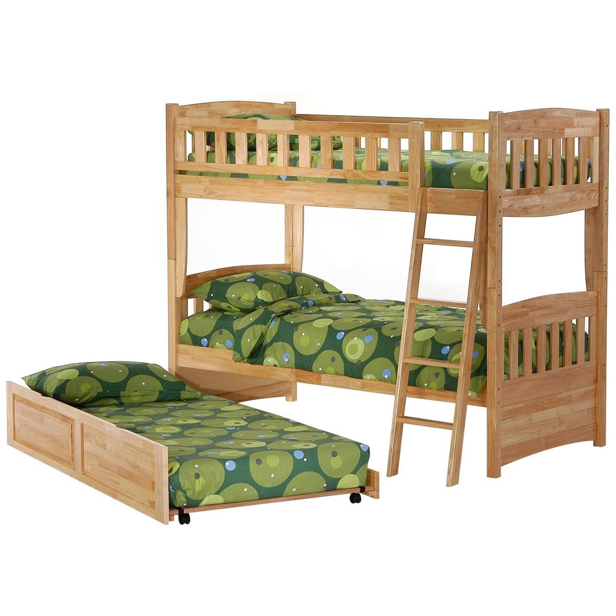 Night And Day Cinnamon Twin Over Twin Bunk Bed