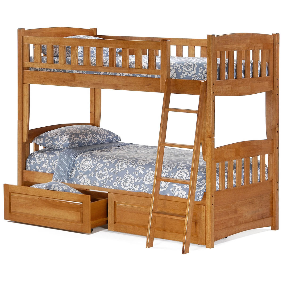 Atlantic Furniture Arizona Twin over Twin Bunk Bed