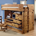 Rustica Loft Open Drawers