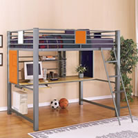 Powell Teen Trends Full Loft Bed