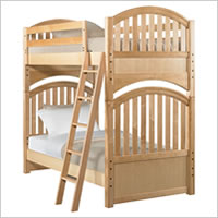 Young America 2nd Nature Twin Bunk Bed