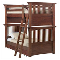 Young America Basecamp Twin Bunk Bed